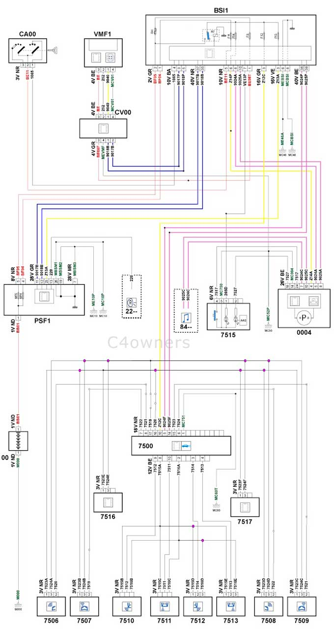 Citroen C4 Radio Wiring Diagram 31 Images Isuzu Red Gray 9 Xsara Picasso Efcaviation Com At Cita