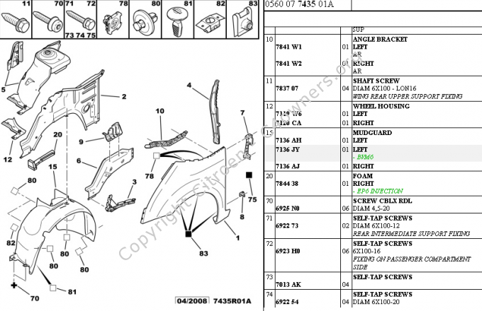 Forums    Maintenance And Repair Tips And Procedures     Parts Diagram Showing Wheel Arch And