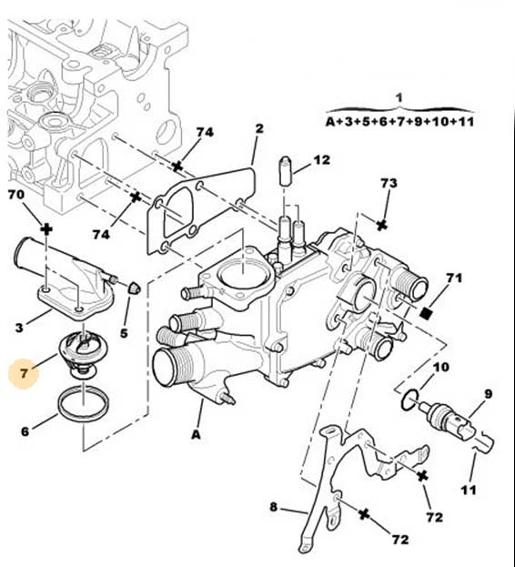 Forums    C4 The Garage    How To Replace The Thermostat On