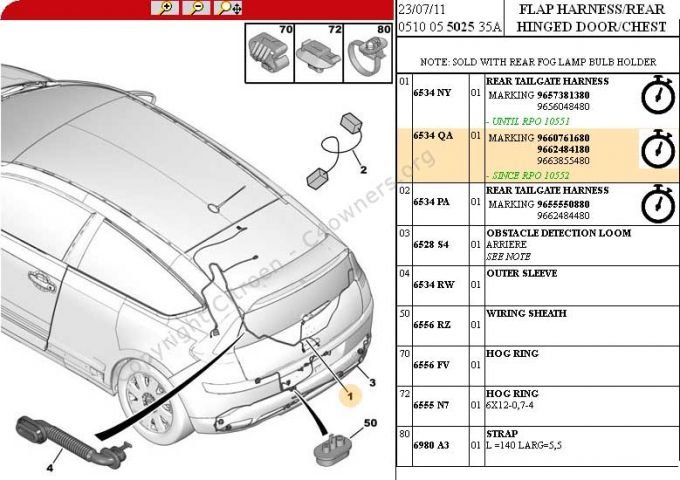 Forums    C4 The Garage    Preventative Maintenance - C4 Coupe  Wiring Loom In Tailgate - C4