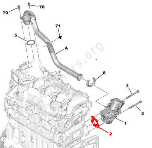 Egr Location On 1 6 Engine