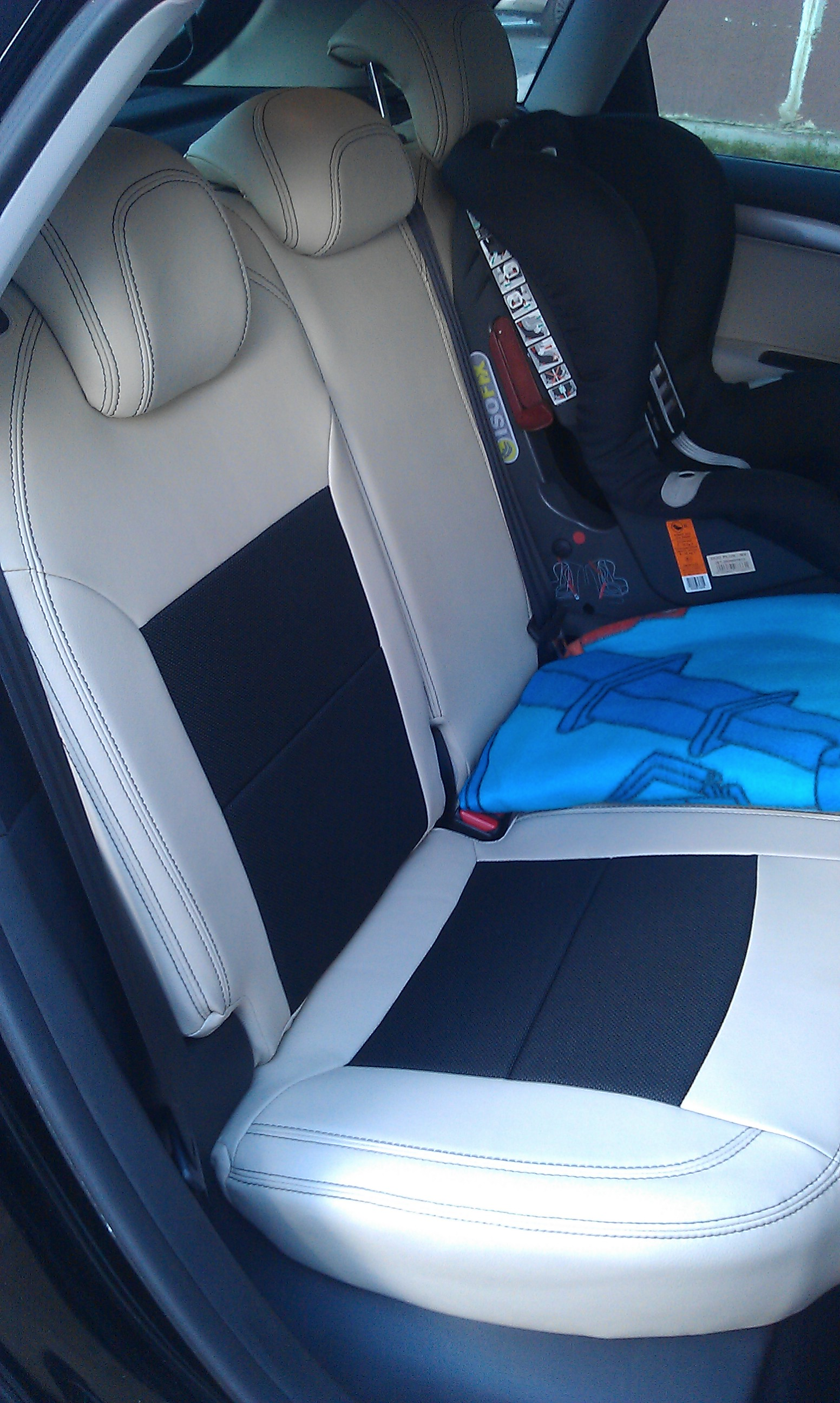 Forums the garage seat covers how to remove the back for Garage seat nevers