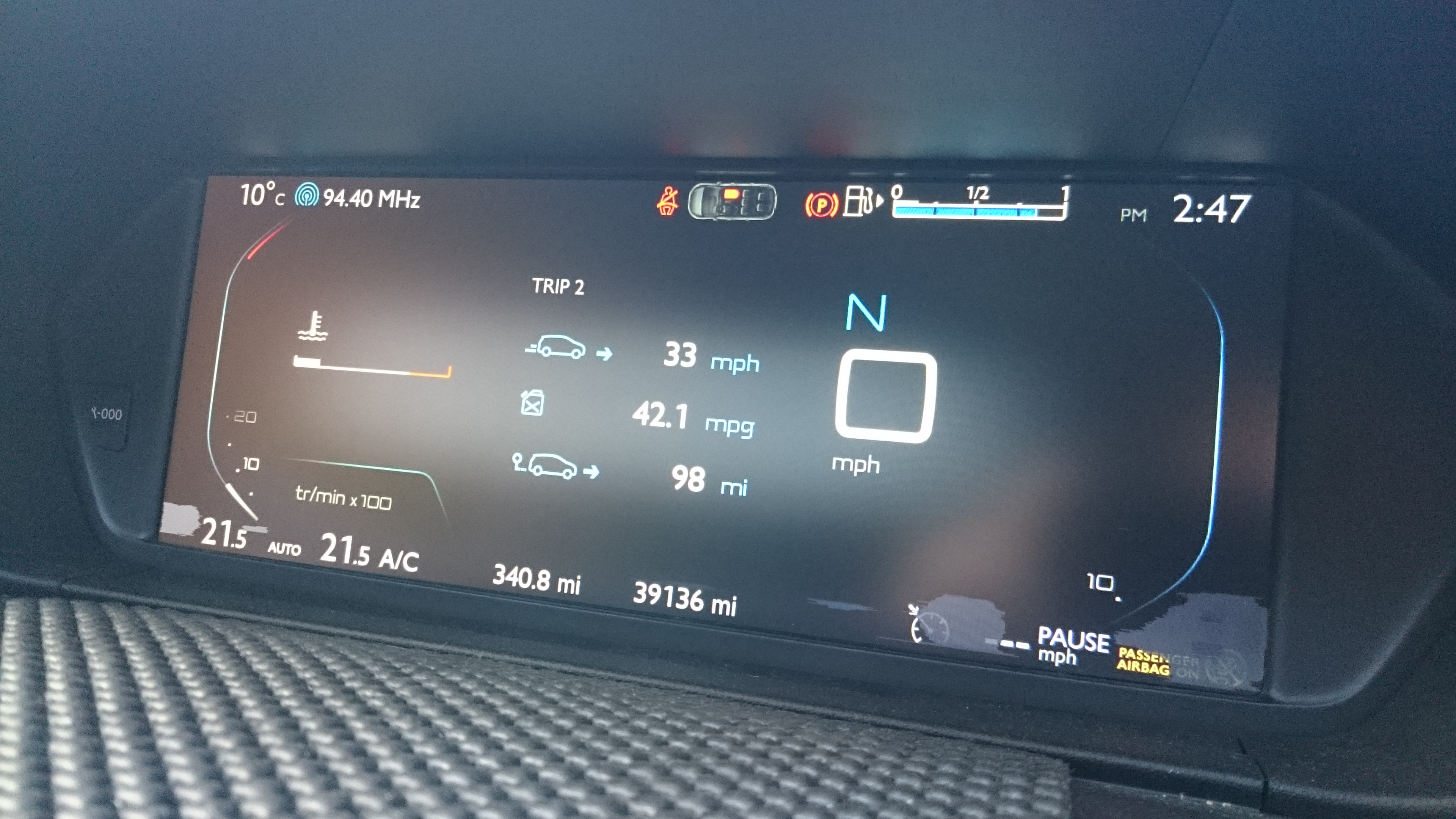 Forums / C4 Picasso (B78) General Questions / Burn out areas