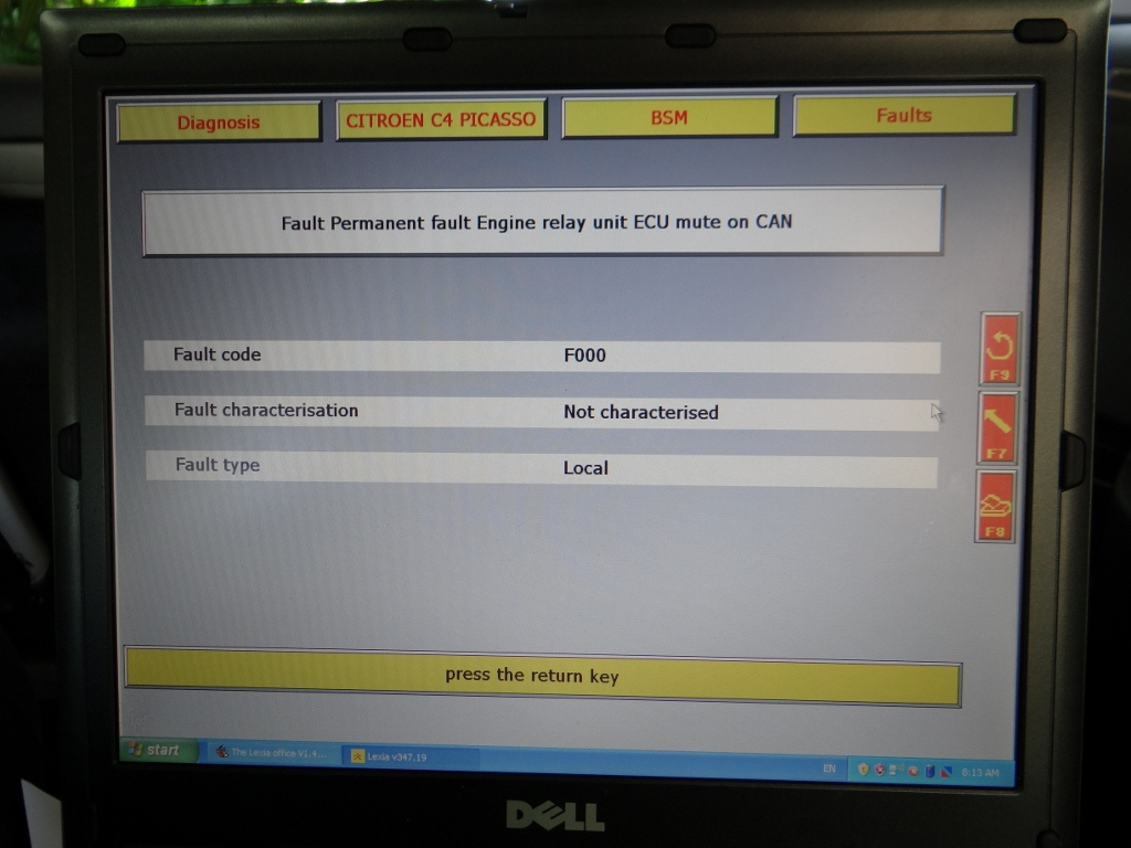 Forums C4 Picasso Problems And Issues 20hdi Automatic Losing Peugeot 407 Fuse Box Fault F735 Rear Lh Mixing Motorcant Find This One On The Forum List But I Doubt It Has Anything To Do With Problem Ive Attached Photos Of Some