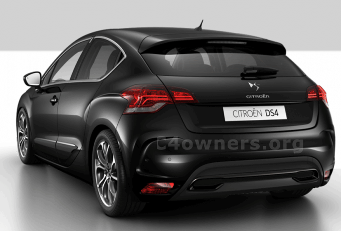 citroen ds4 black the image kid has it. Black Bedroom Furniture Sets. Home Design Ideas